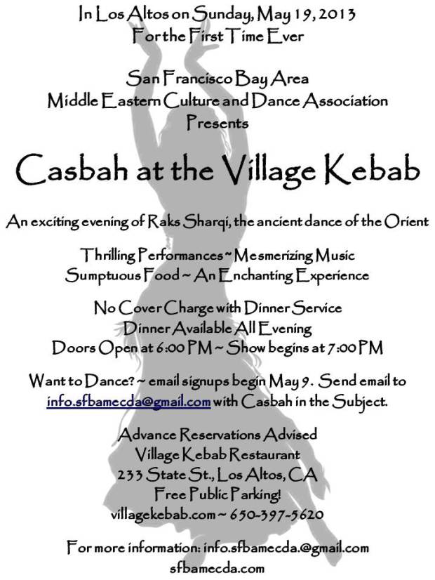 Casbah at the Village Kebab in Los Altos, CA