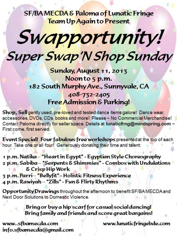 Super Swap'N Shop Sunday