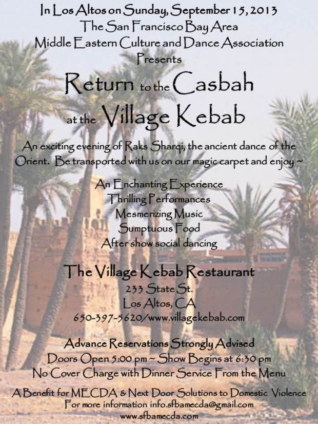 Return to the Casbah at the Village Kebab